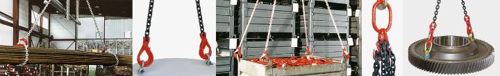 Anschlagketten & Kettengehänge nach EN 818-4 | Güteklasse 8 & 10
